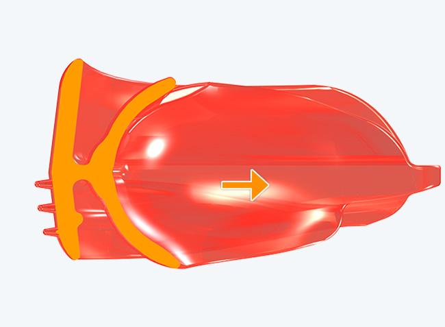 Aerofoil base